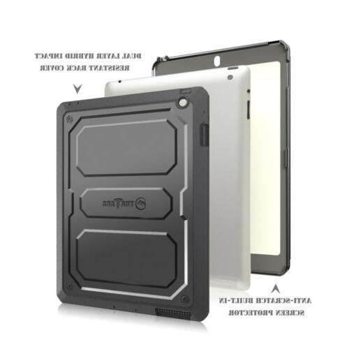 Fintie Dual layer Tuatara Case Apple 2/3/4 W/Built-in