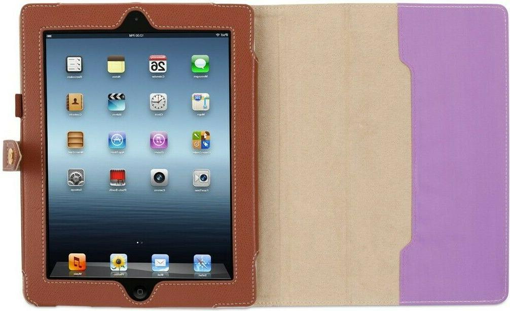 Griffin Folio for iPad 2, iPad 3, and iPad , black/brown   M