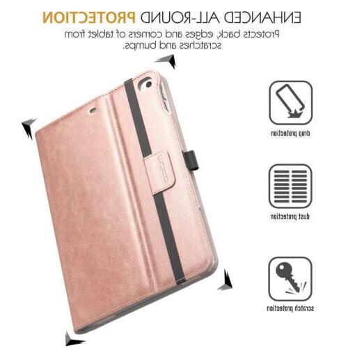 MoKo Folding Folio Cover Card Apple iPad 2018