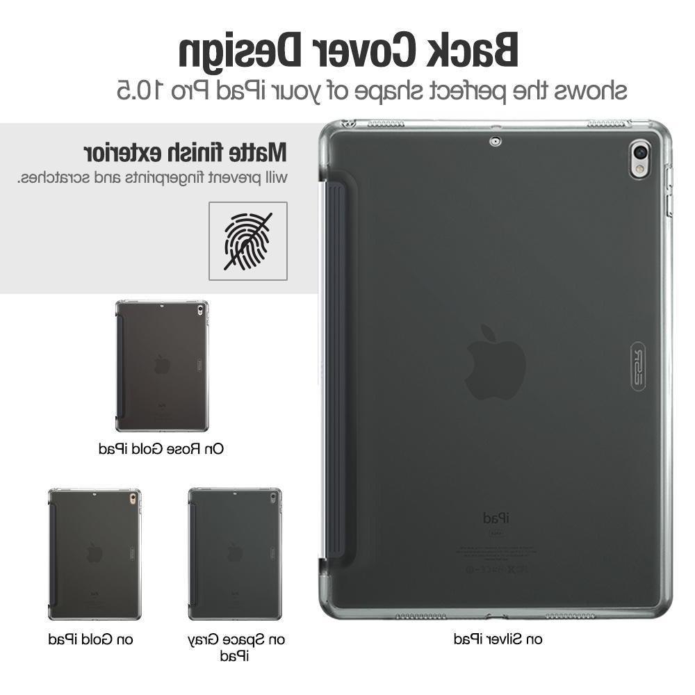 <font><b>Case</b></font> <font><b>iPad</b></font> 10.5, <font><b>ESR</b></font> Back <font><b>Case</b></font> Match with Smart Slim Back Cover <font><b>iPad</b></font> 10.5 inches