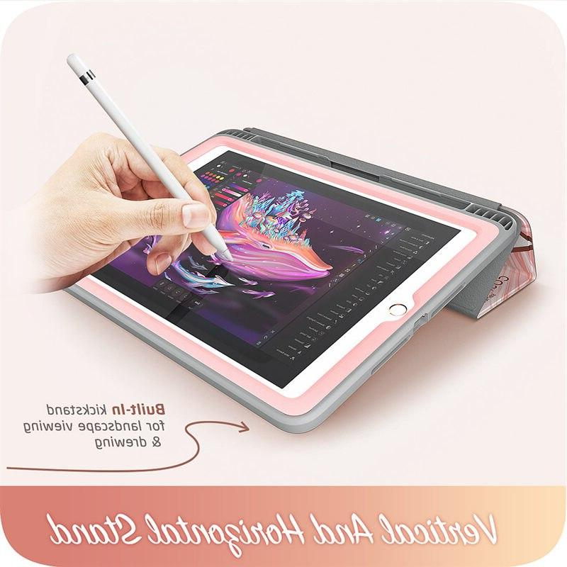 For <font><b>iPad</b></font> 9.7 <font><b>i</b></font>-<font><b>Blason</b></font> Cosmo Stand <font><b>Case</b></font> with & Holder, Screen