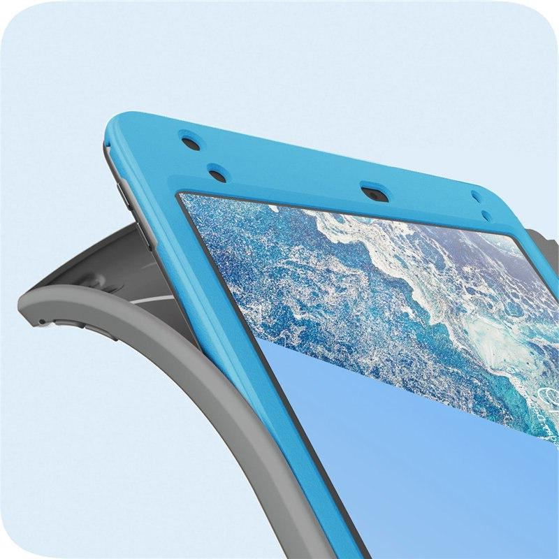 For <font><b>ipad</b></font> Mini 5 Full-Body Trifold Stand Protective Cover & Built-in Screen