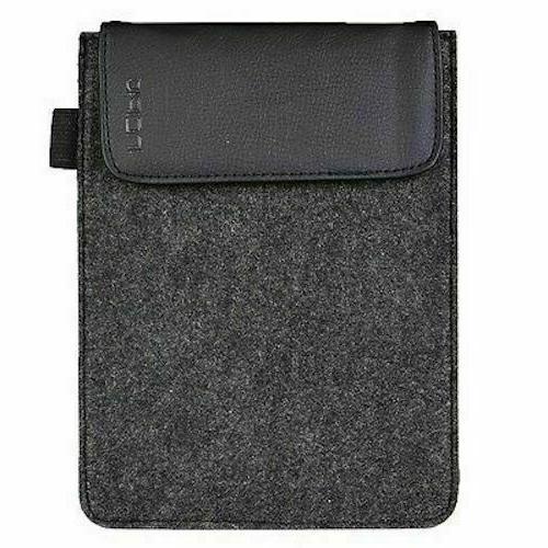 gray felt sleeve case for ipad mini