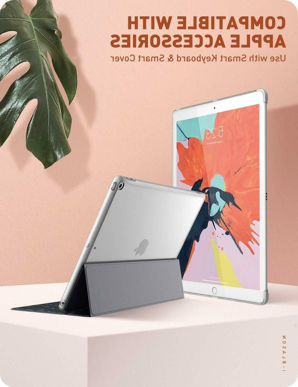 i-Blason Case For iPad 7th Gen 10.2 2019, Compatible with Sm