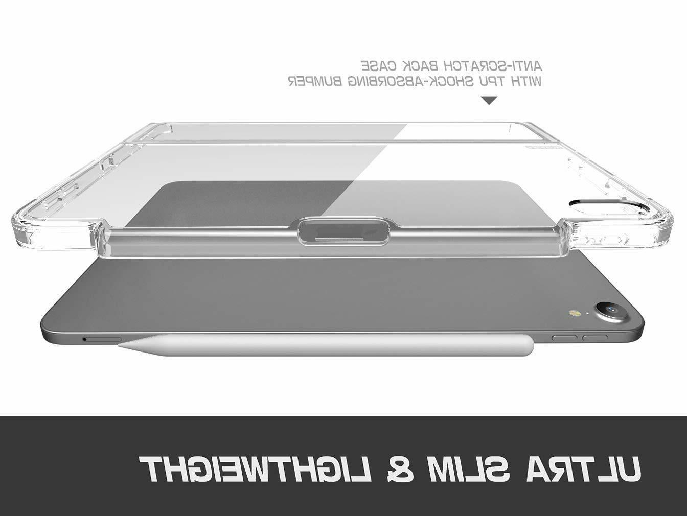 i-Blason Case Pro 12.9 / 2017/2018 Clear Protective Keyboard Cover