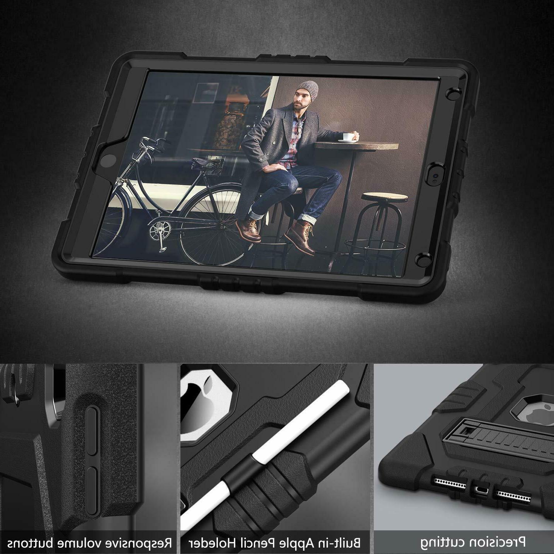 TOPSKY iPad 10.2 2019 Case iPad Case Pencil Holder Kickstand