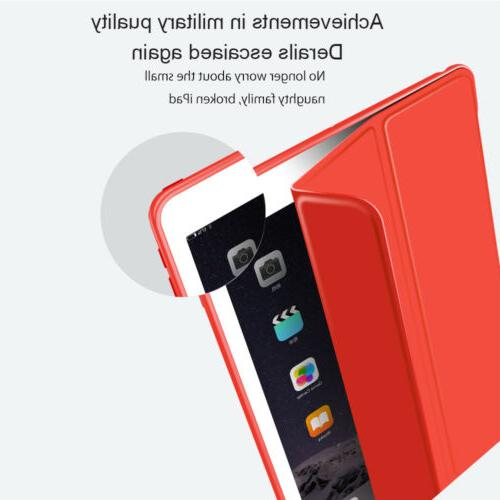 For iPad 10.2 Air 2 Smart Silicone Shockproof