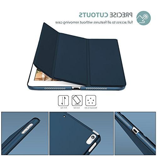 ProCase iPad Case Lightweight Shell with Translucent Back iPad Pro 10.5-Inch Blue
