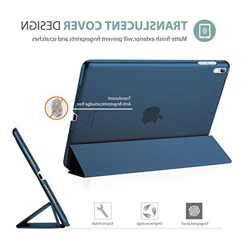 ProCase iPad Pro Case Ultra Slim Lightweight Stand Case Shell with iPad 10.5-Inch Blue