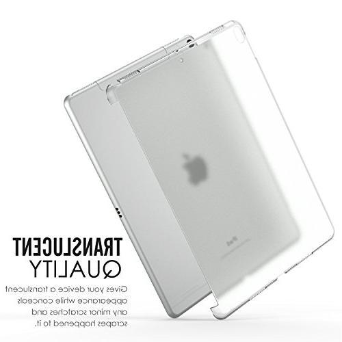 MoKo Case Fit iPad Pro 10.5 Translucent Slim Bumper Protector/Back Cover Apple 10.5 Inch