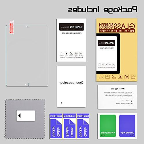 SPARIN iPad Screen Protector Double Shielding Friendly / Edge/Scratch for New 10.5
