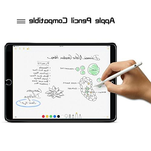 Screen Protector Tempered Friendly 2.5D Edge/Scratch Resistant for New Pro 10.5