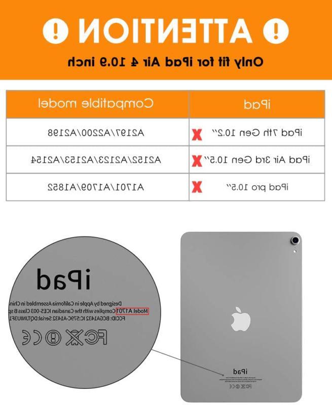 DTTO 10.9 Case iPad Case Lightweight Slim
