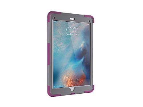 iPad 12.9 Rugged Case, Survivor Slim + Sangria/Grey