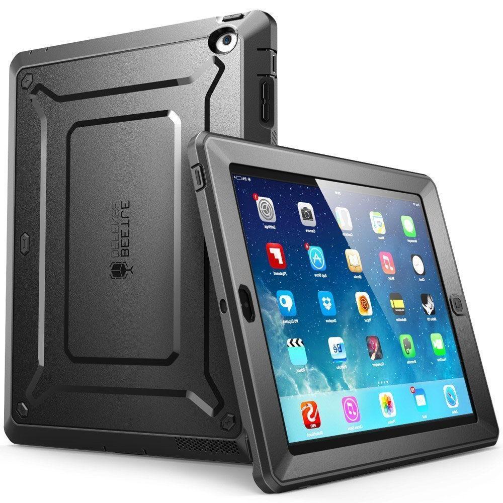 iPad 2/3/4 Case SUPCASE Case Unicorn Beetle PRO Built-in Scr