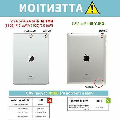 ProCase iPad 2 3 4 – Slim Stand