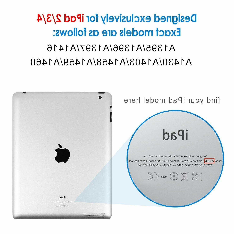 "iPad 2 3 4 Gen Case 9.7"" Magnetic Smart Fold For"