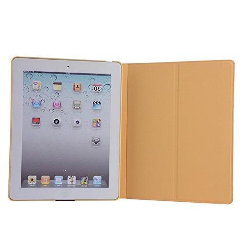 iPad Case, 3 Case, 4 Case, Folio 9.7-Inch Stand Case Apple 2 3 / - Rabbit