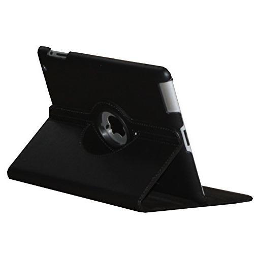 iPad 2 Case, Rotating Auto Wake Up/Sleep iPad 2/3/4 A1395 A1396 A1397 A1458