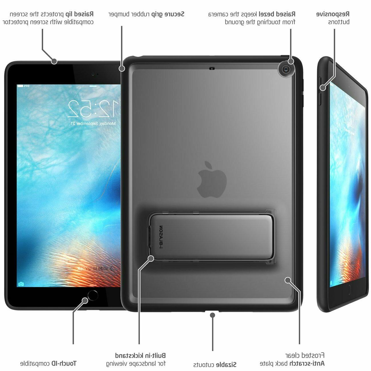 iPad 2017 2018 Case Hybrid Protective New iPad