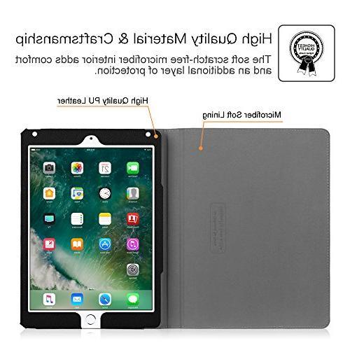 Fintie 2017 / 2 iPad Case Viewing Auto for iPad 5th Gen, 2, Blossom