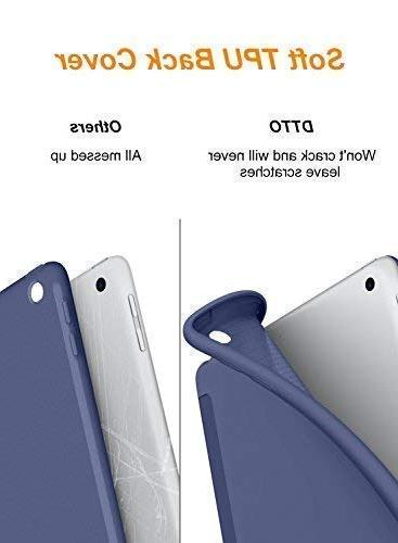 DTTO 9.7 2018 iPad 6th Case / 5th Generation Case, Fit with TPU Case iPad 2018/2017 -