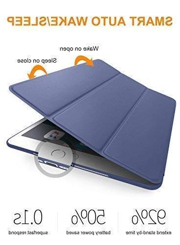 DTTO iPad Case 2018 6th Case 5th Fit Lightweight Cover with Soft Back Case for iPad 9.7 2018/2017