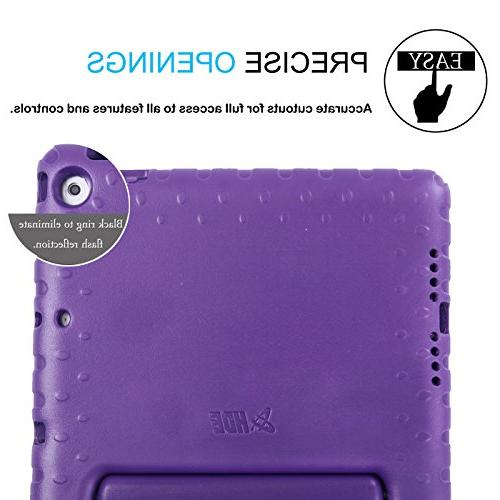 9.7-inch Kids Shockproof Cover Built for iPad 9.7 Inch / 5th iPad Purple