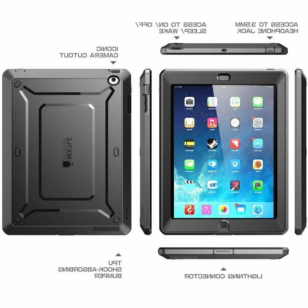 Genuine SUPCASE Case For iPad 4 3 2  Protective Cover w/ Scr