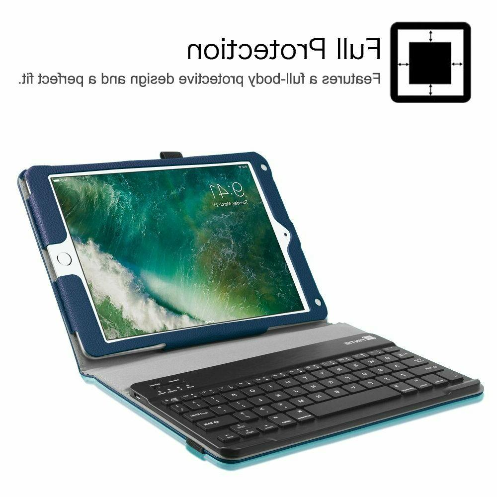 For iPad 6th Case Cover Detachable Keyboard