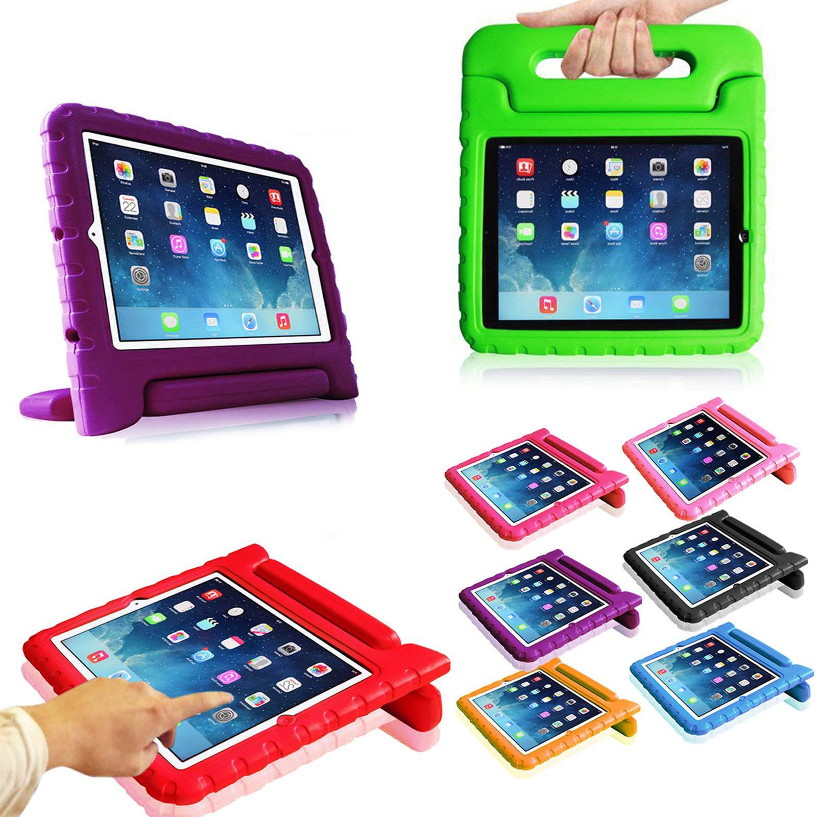 For iPad 4 iPad 3 iPad 2 ShockProof EVA Case Handle Stand Co