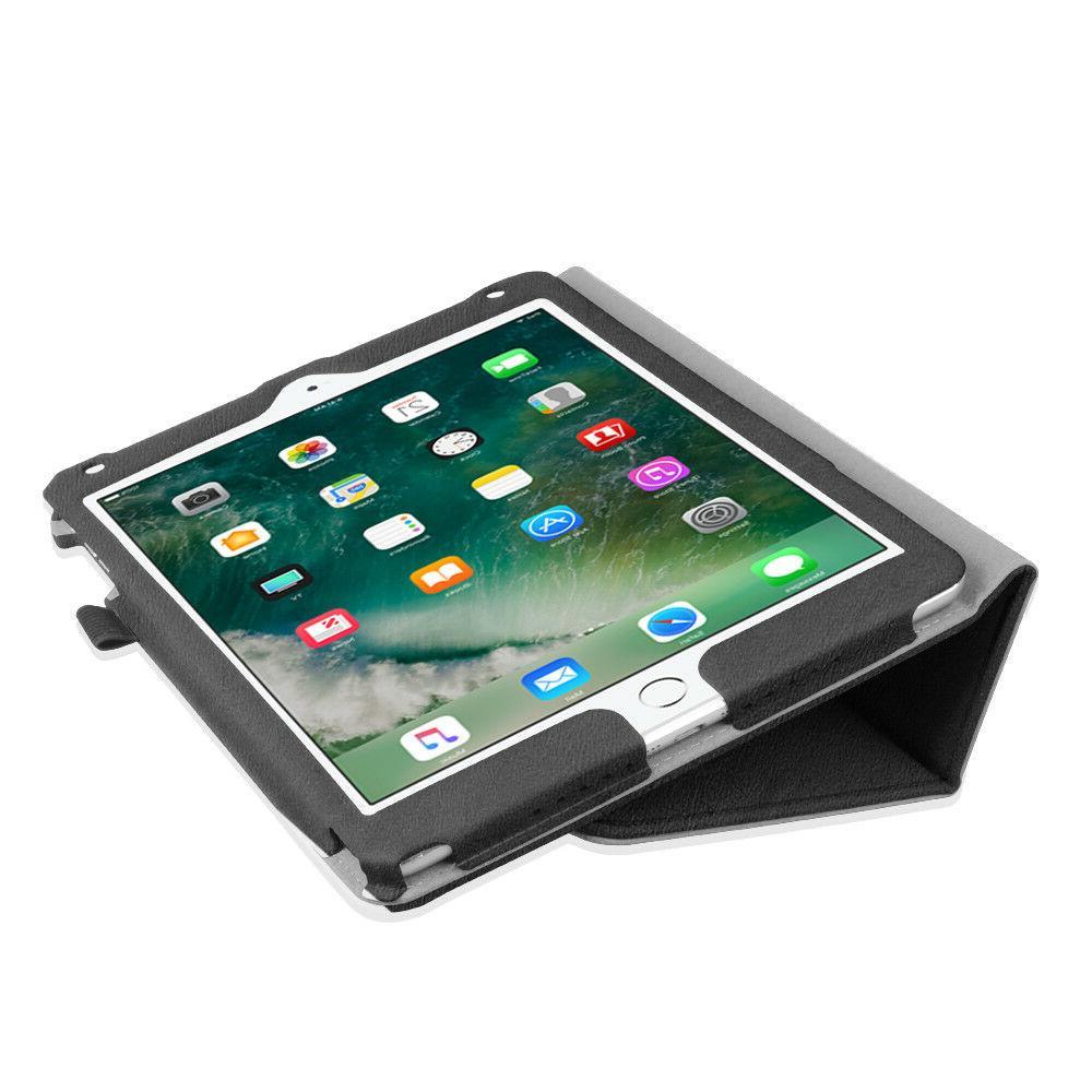 For iPad 2018 Folio Case Cover + Protectors + Pen