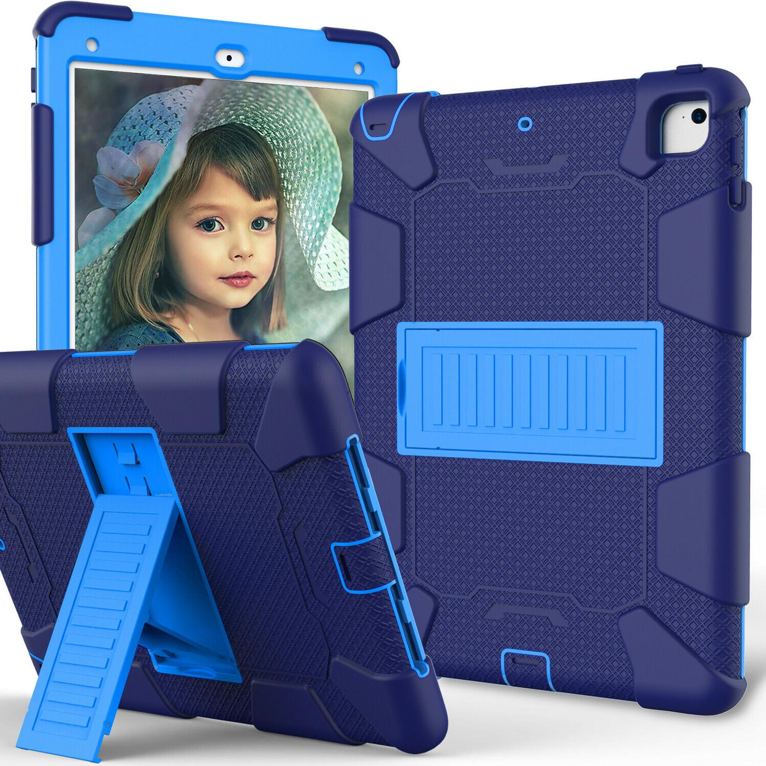 For iPad 6th Air Pro 9.7 Shockproof Duty Hard Cover