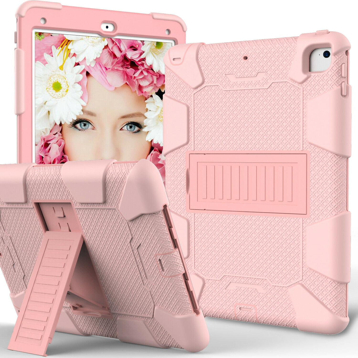 For iPad Air 2 9.7 Hard Case Stand Cover