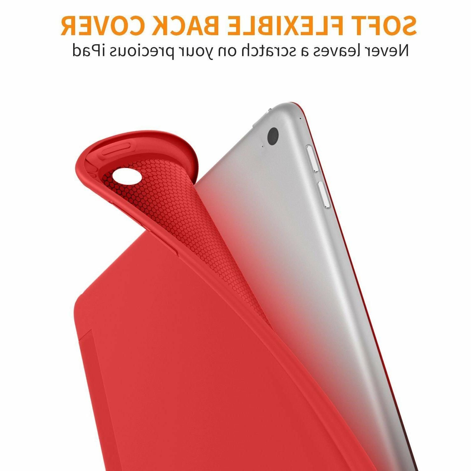 iPad Generation 9.7 Magnetic Silicone Smart Cover 2018