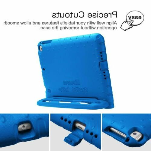 For iPad 6th 9.7'' Shockproof Cover w/ Apple Pencil Holder