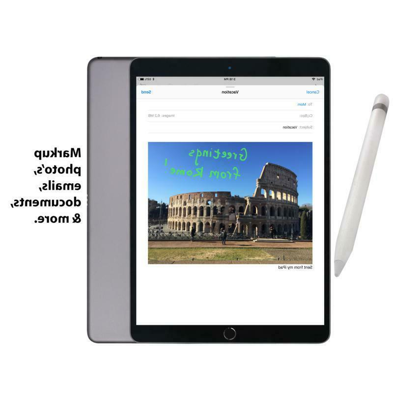 Apple iPad 6th Tablet w/Keyboard Accessories