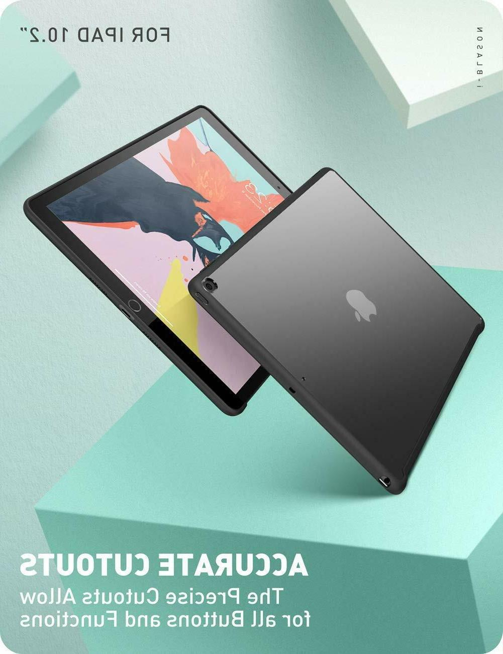 iPad 7th 10.2 2019 Hybrid Cover For Smart Cover