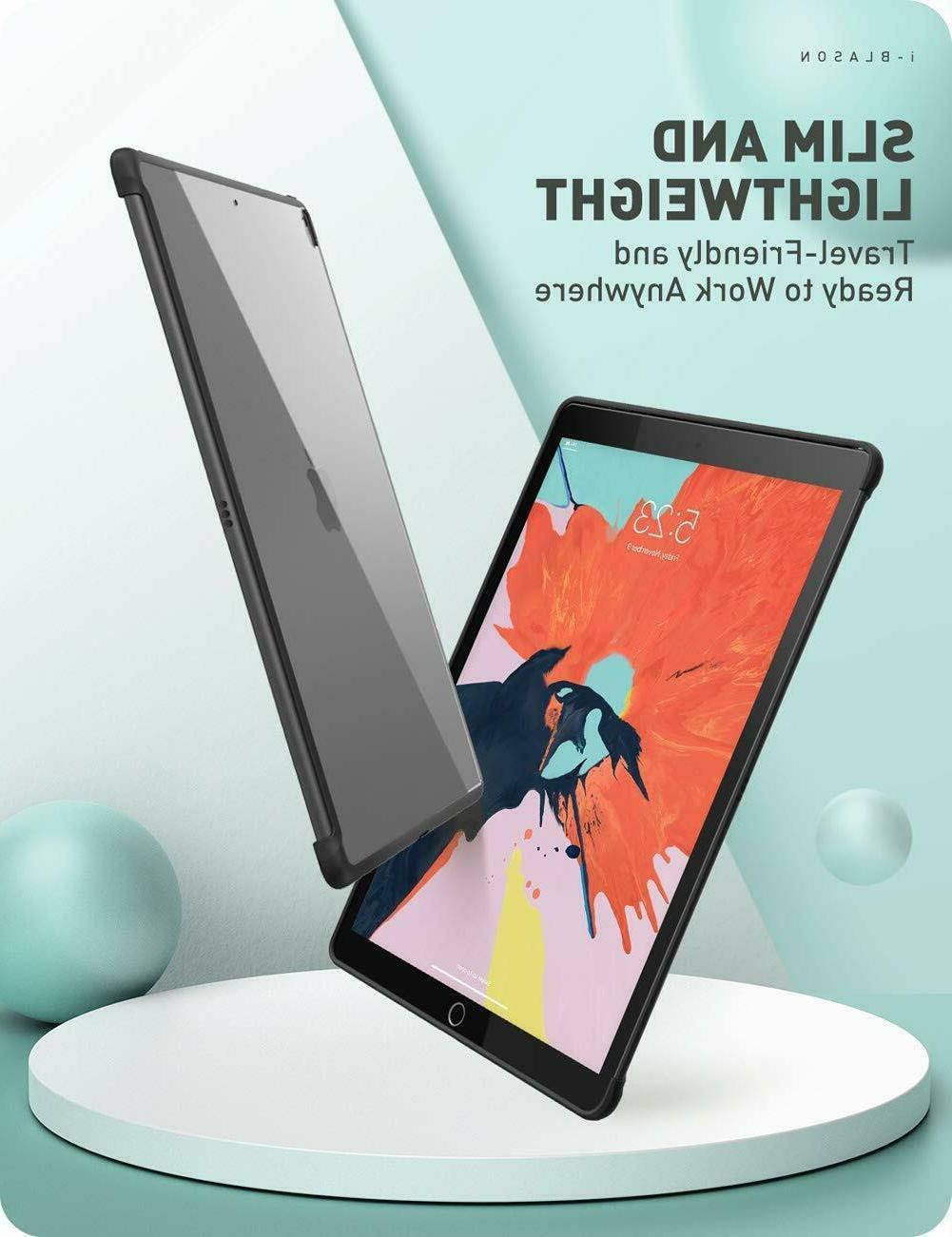 iPad Gen 10.2 2019 i-Blason Hybrid Cover For Smart Cover Keyboard