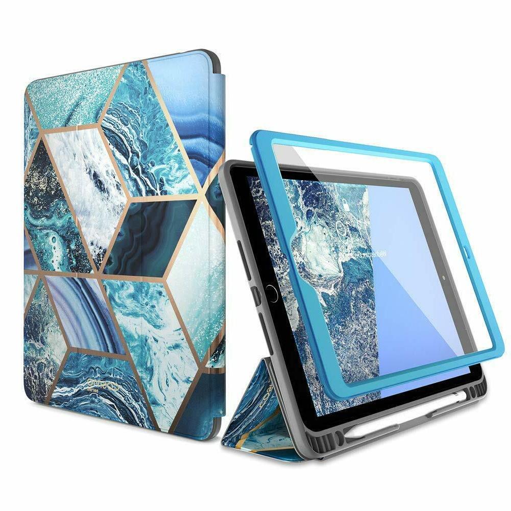 "iPad 10.2"" i-Blason Stand Case Cover Screen Protector"