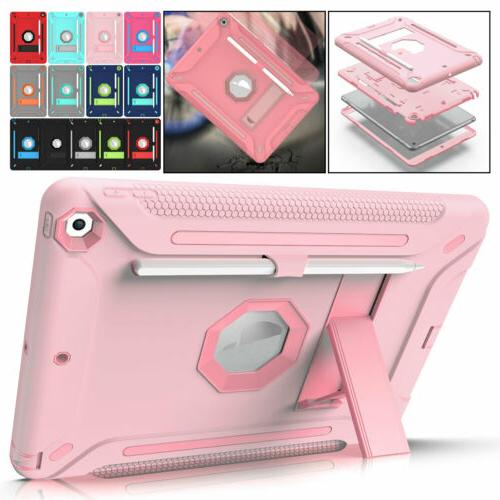Armor Case For iPad 10.2 7th Generation 2019 Silicone Protec