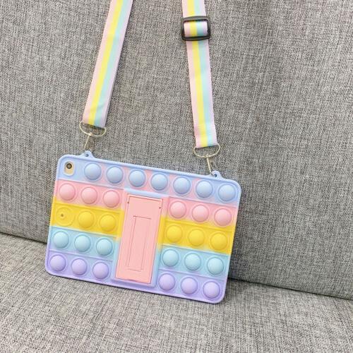 For iPad 8th 6th 5th 4/2 Fidget Toys Push Case