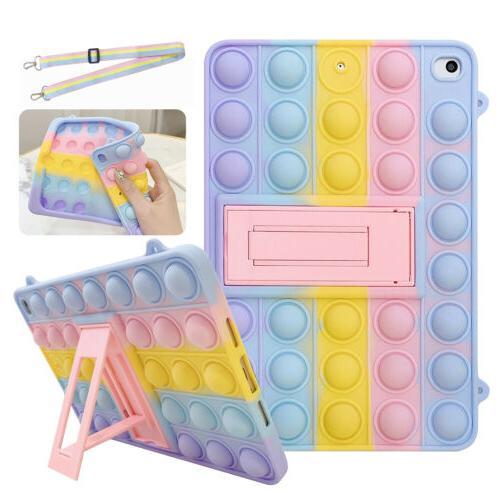 For iPad 7th 6th 5th mini Air 4/2 Pop Toys Push Case