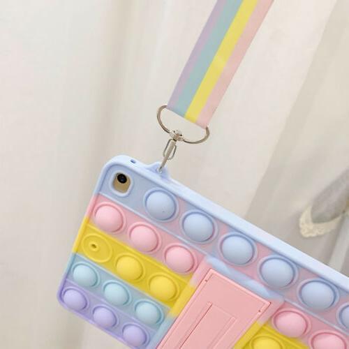 For iPad 6th 5th 4/2 Pop Push It Bubble Case