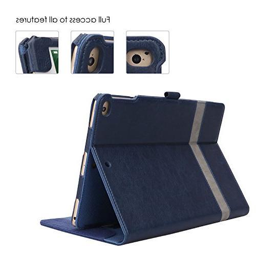 ProCase iPad iPad 2, iPad Air Case - Stand Cover with Apple 9.7 Also iPad 2 iPad Air -Navy