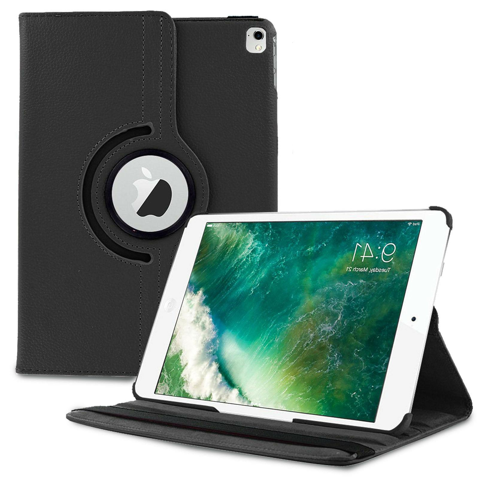 360 Rotating Stand Leather iPad Case Cover Sleep / Wake For
