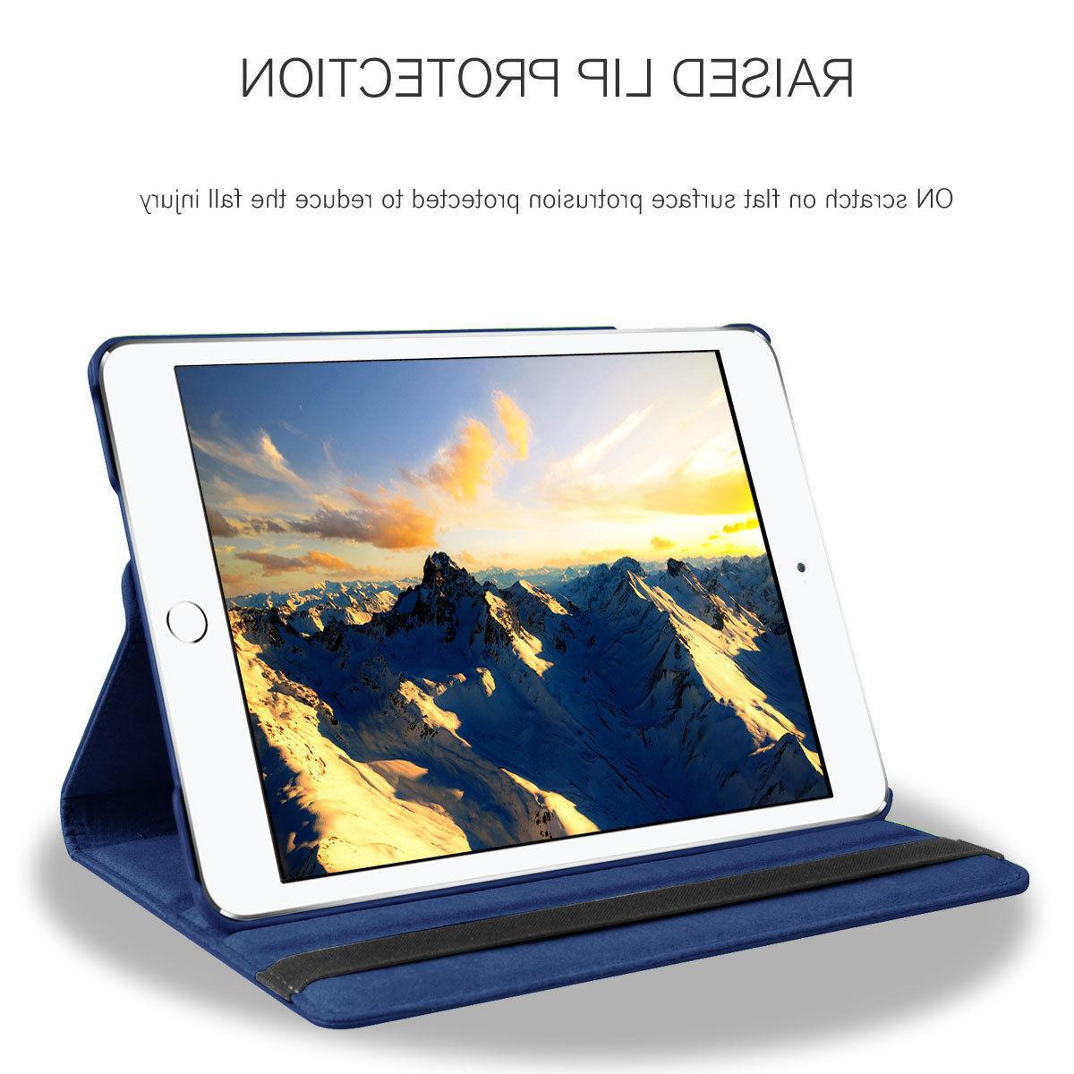 For iPad 6th Generation 2017 Leather Stand Flip Case