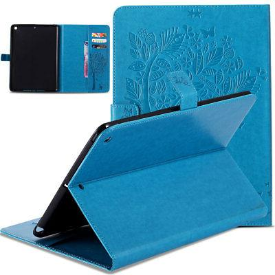 For iPad 5th A1823 Smart Flip Wallet Cover