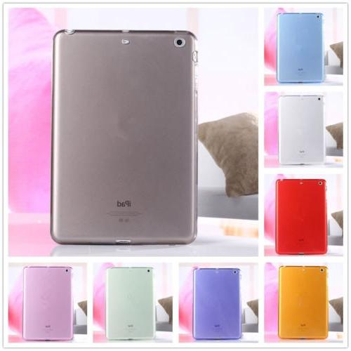 For iPad Air/Mini 1 2 3/Pro 11 Clear Soft TPU Rubber Skin Pr