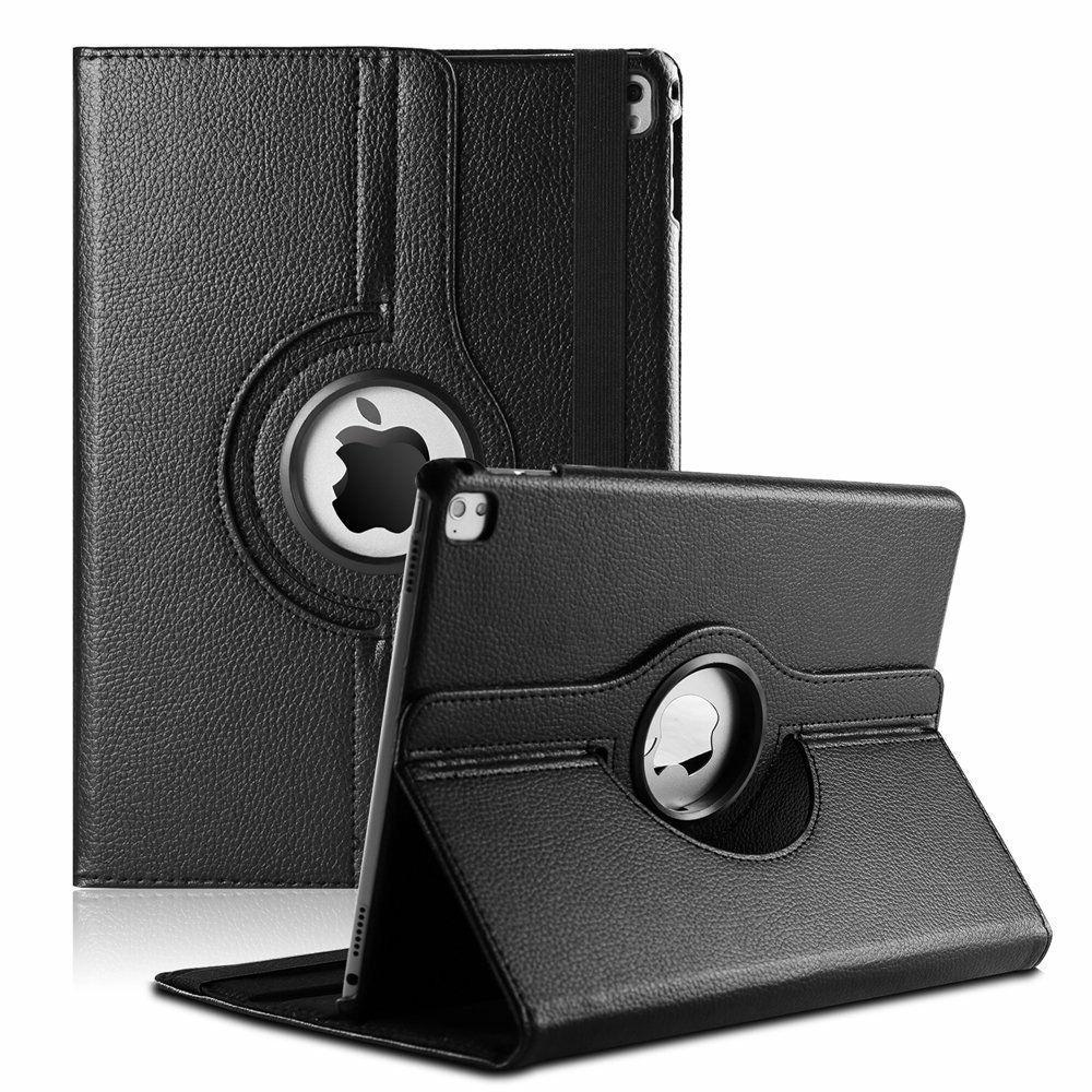 "Apple iPad Pro 12.9""  PU Leather Case Cover w/ 360 Rotating"
